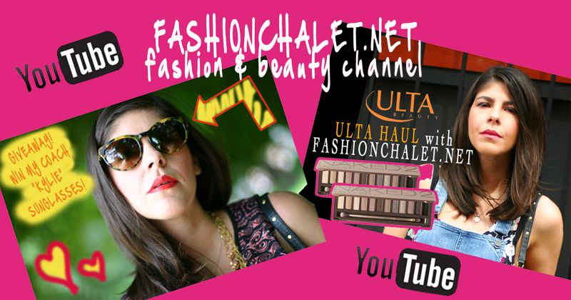 FASHIONCHALET'S YOUTUBE CHANNEL
