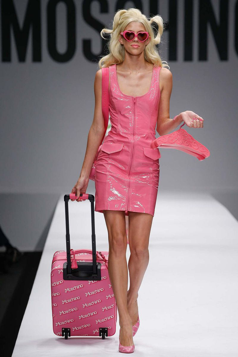 BARBIE WORLD by MOSCHINO S/S 14