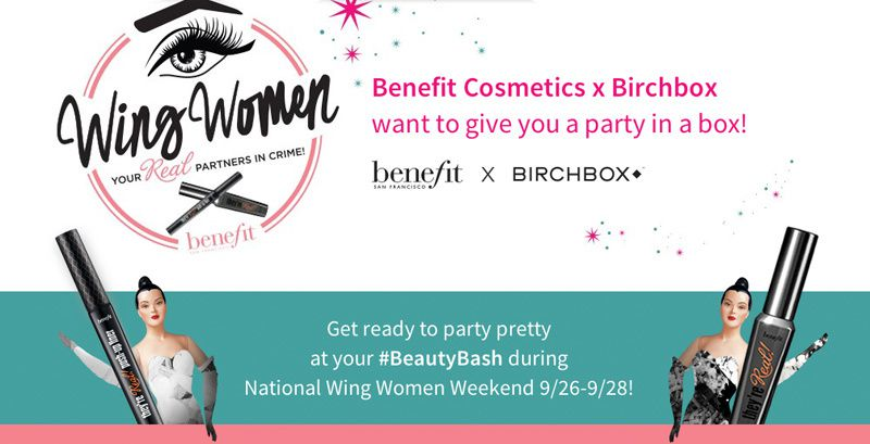 {GIVEAWAY} BENEFIT x BIRCHBOX #BEAUTYBASH
