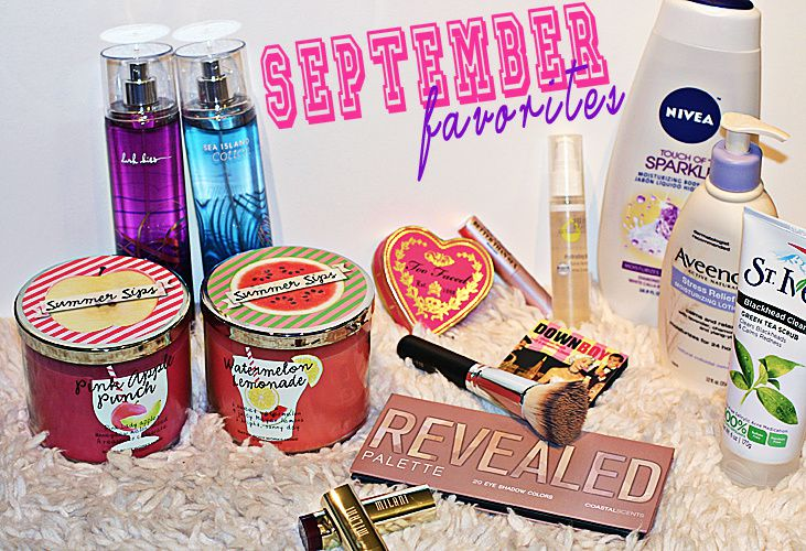 SEPTEMBER FAVORITES + THE BALM GIVEAWAY DETAILS {VIDEO}