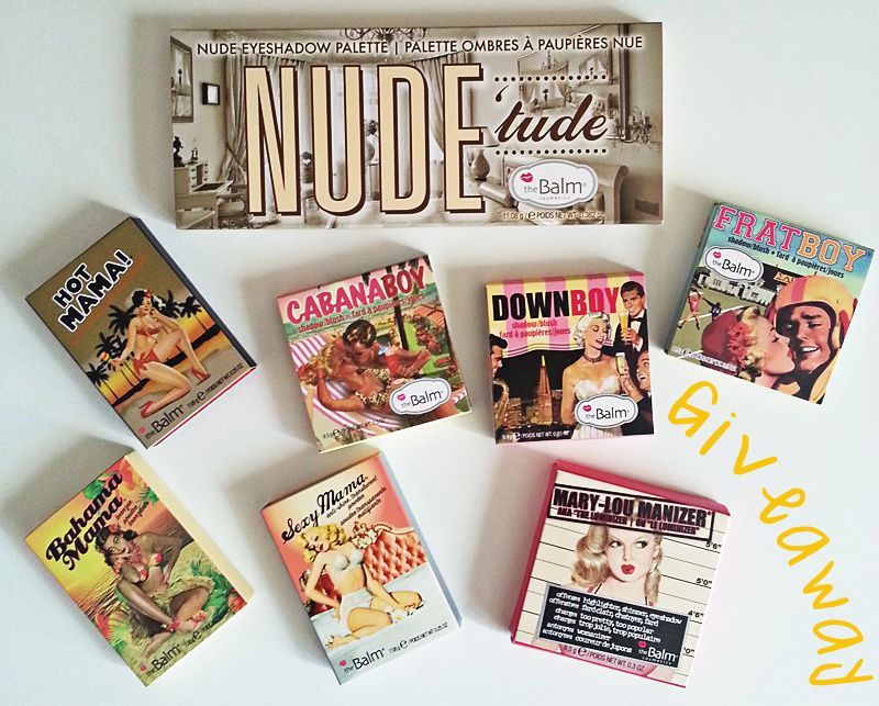 THE BALM GIVEAWAY! {OPEN INTERNATIONALLY}
