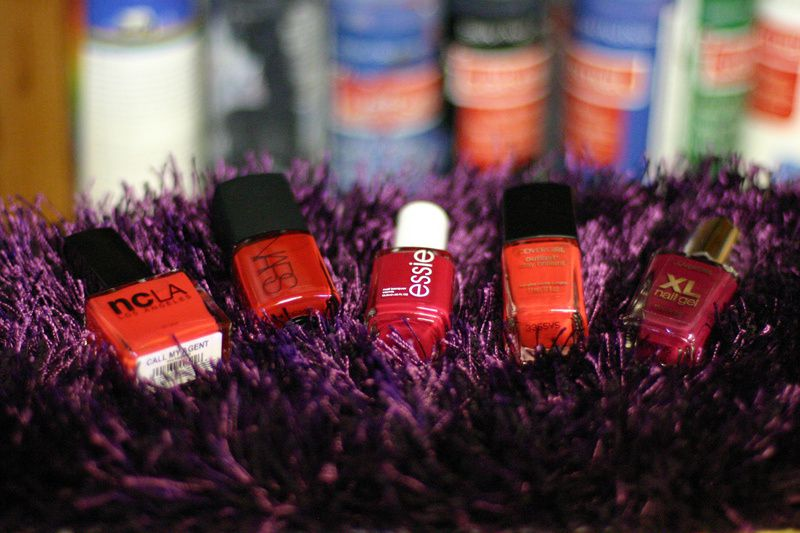 FALL NAIL COLOR CRAVINGS for CRANBERRY RED