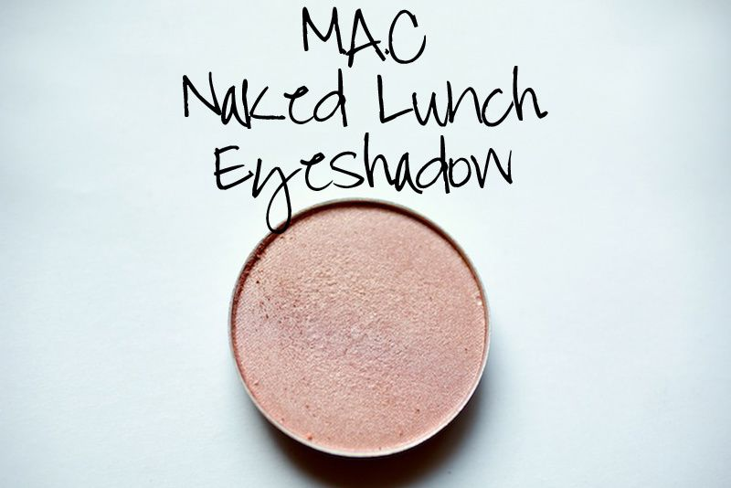 MAC Naked Lunch Eyeshadow vs e.l.f Gotta Glow Blush DUPE