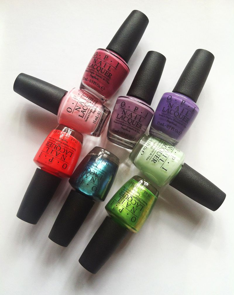 O.P.I Hawaii Nail Polish Collection - My Favorite Colors