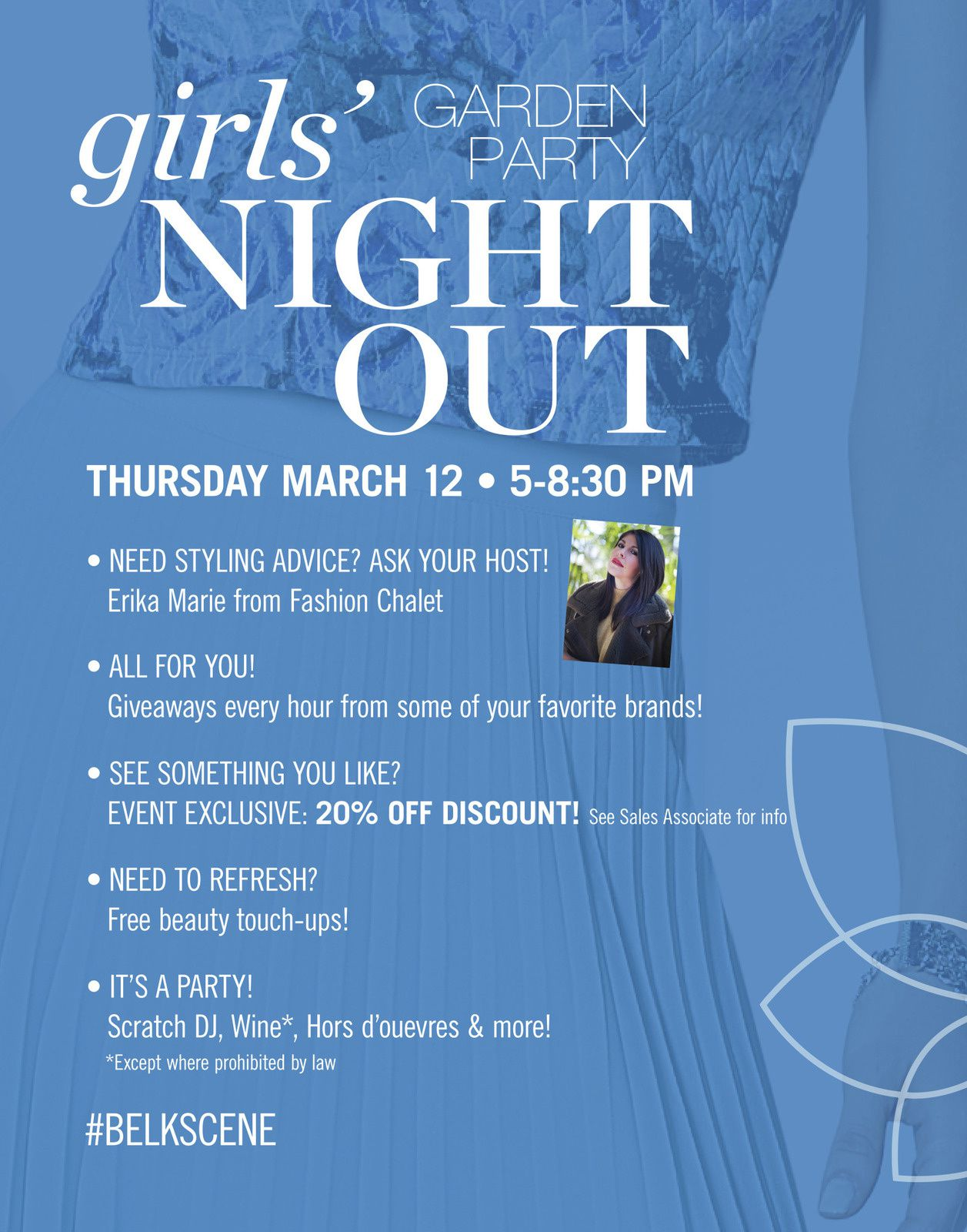 Girls Night Out! Join Me with Belk at Crabtree Valley Mall - March 12, 2015