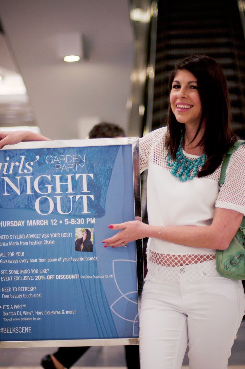 Girls Night Out with Belk Spring 2015