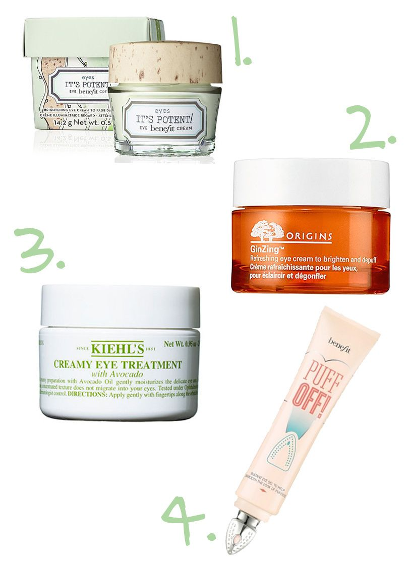 Best Eye Creams to DePuff and Anti Age