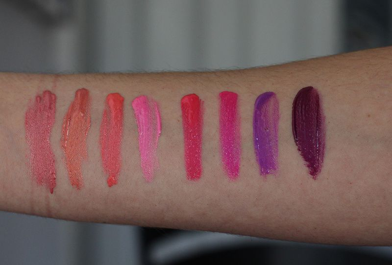 Too Faced Melted Metal Metallic Lipstick + LIP SWATCHES