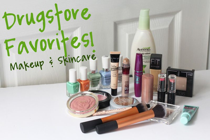 Top 10 Drugstore Favorites! Makeup and Skincare | Spring 2015