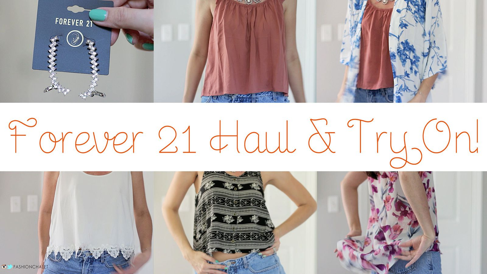 Forever 21 Haul &amp&#x3B; Try On!