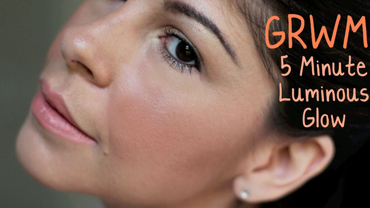 GRWM | Easy Glowy Makeup
