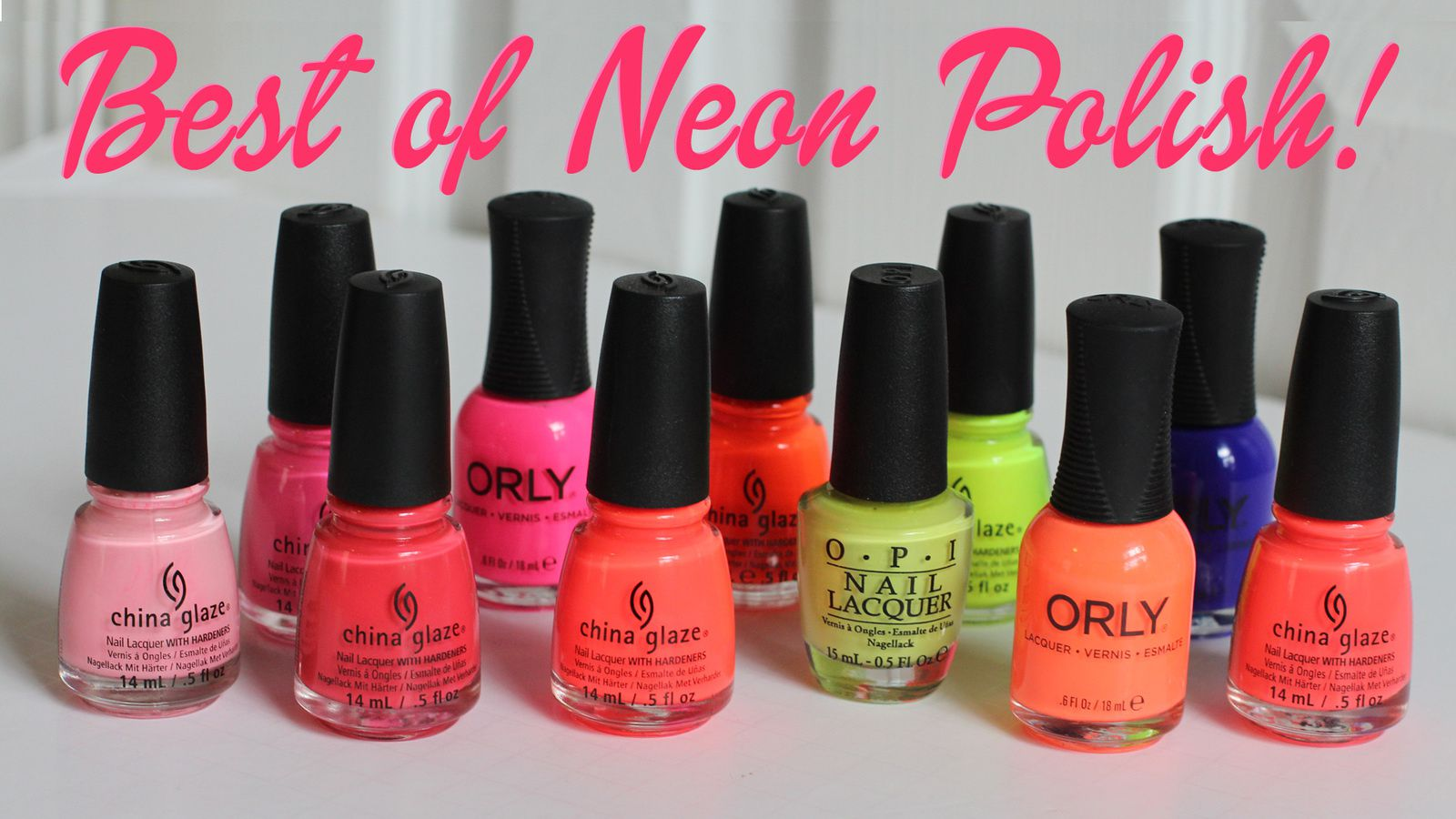 Top Neon Polishes!