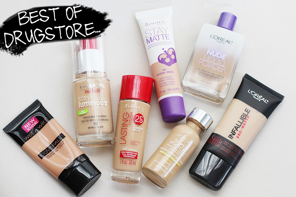 Top Drugstore Foundations Fashion Chalet By Erika Marie