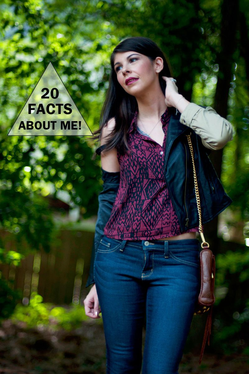 TAG   20 Facts About Me