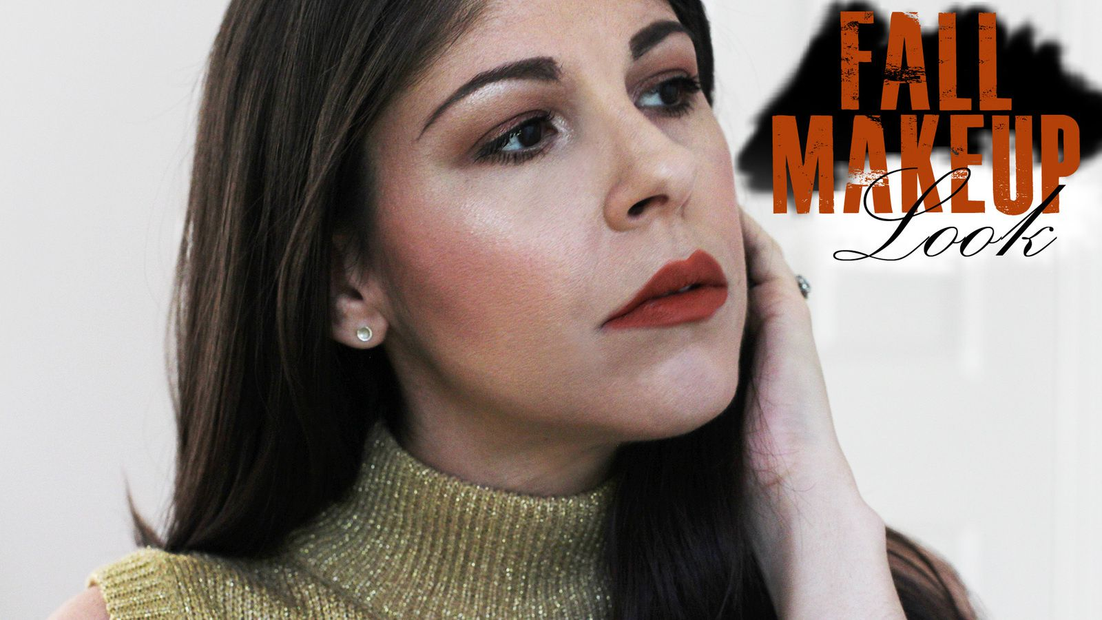 Fall Makeup Look | Burnt Oranges