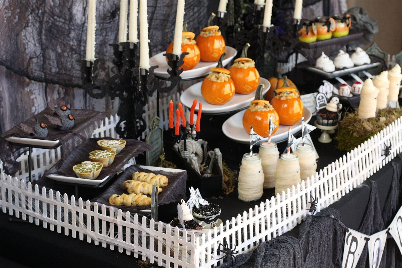 graveyard halloween ideas halloween fashion themed party ideas fashion chalet by erika marie - Halloween Decorations For A Party