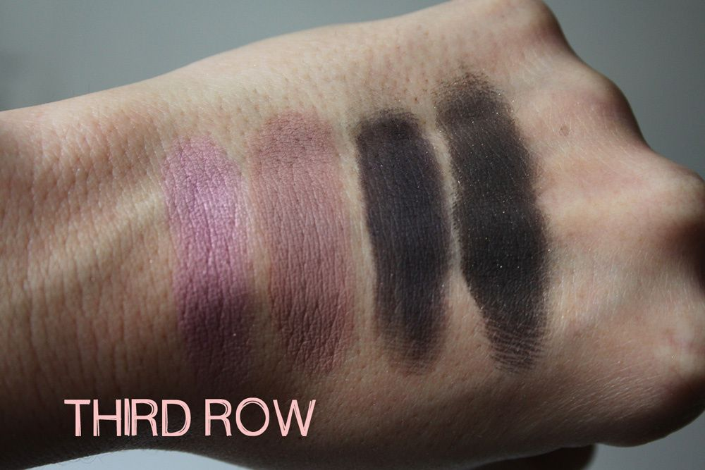 Too Faced Holiday 2015 Swatches + Review