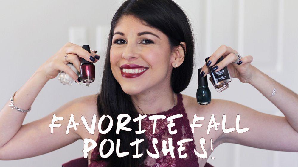 Top 5 Fall Nail Polish Favorites! 2015