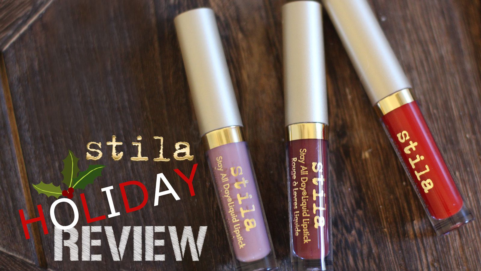 Stila Eternal Love Liquid Lipstick Holiday Set | SWATCHES + REVIEW