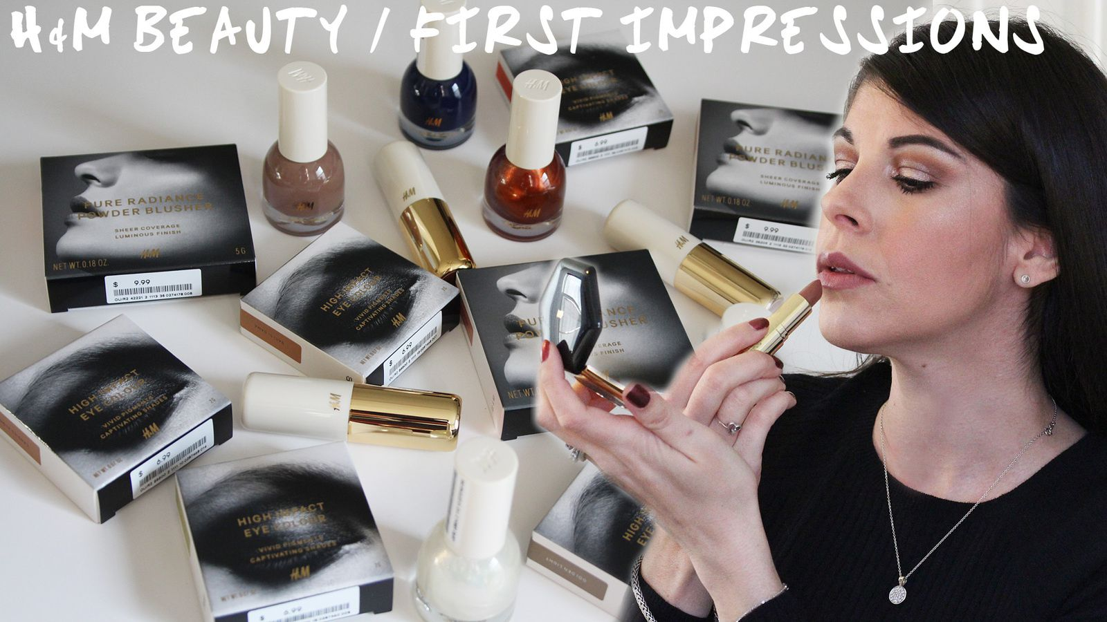 H&M Beauty HAUL/First Impressions!