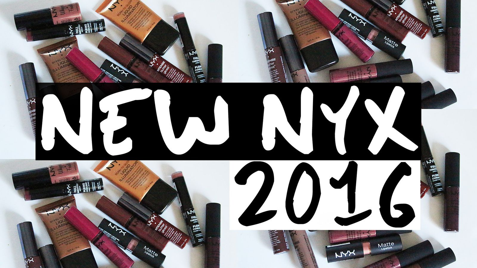 NEW NYX MAKEUP + Must Haves! 2016