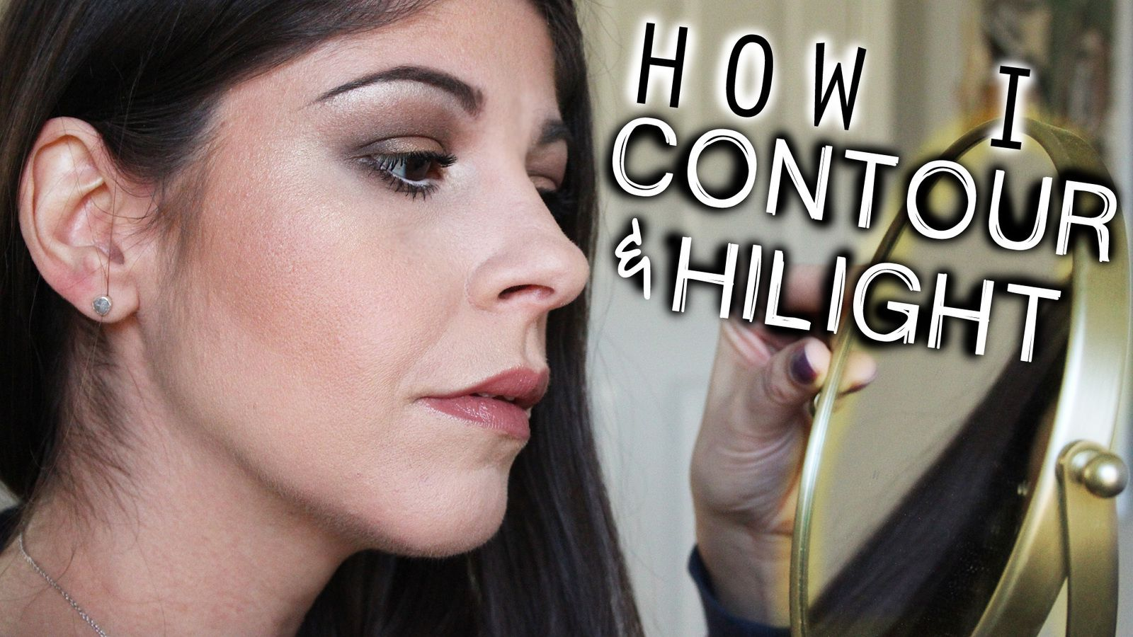 How I Contour and Highlight Using Drugstore and High End