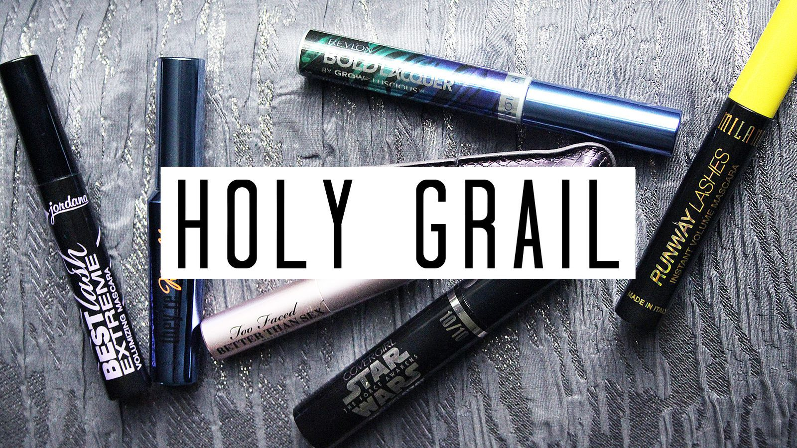 HOLY GRAIL Mascaras // Drugstore & High End