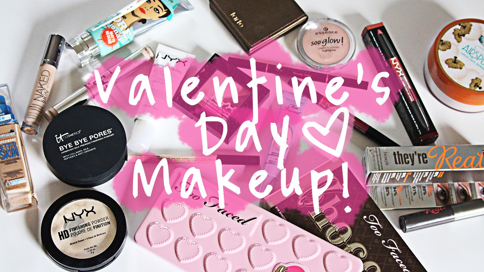 Easy Glowy Valentine's Day MAKEUP 2016!