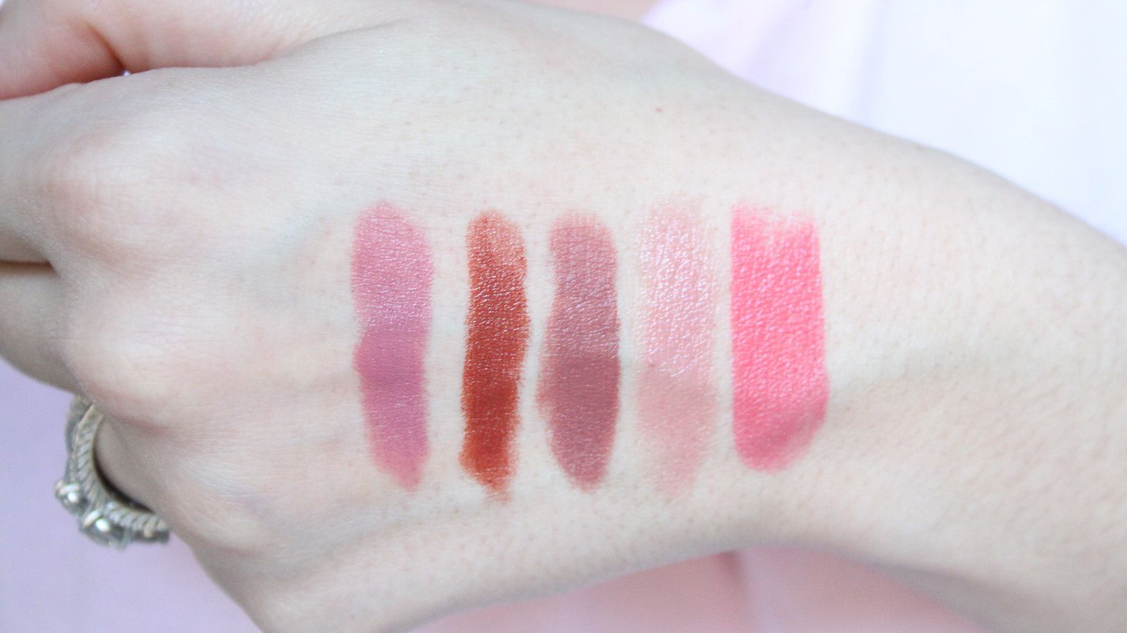 My Everyday Go-To Lipsticks! Nudes/Neutrals 2016