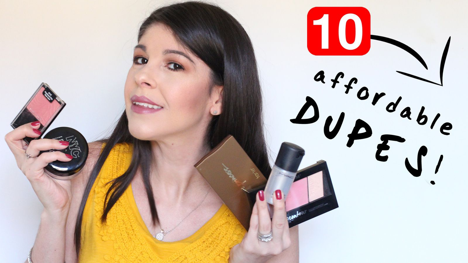 10 NEW Drugstore Dupes! Affordable Alternatives