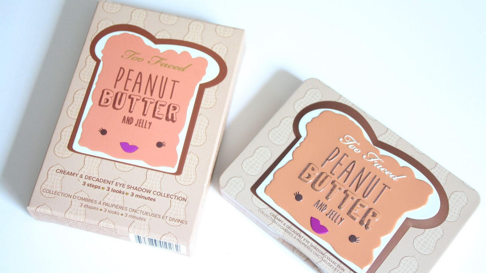 Too Faced Peanut Butter and Jelly Palette REVIEW/SWATCHES