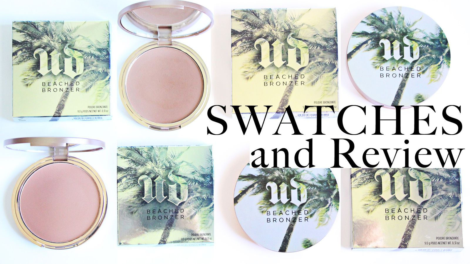 NEW Beached Bronzer x Urban Decay REVIEW &amp&#x3B; SWATCHES