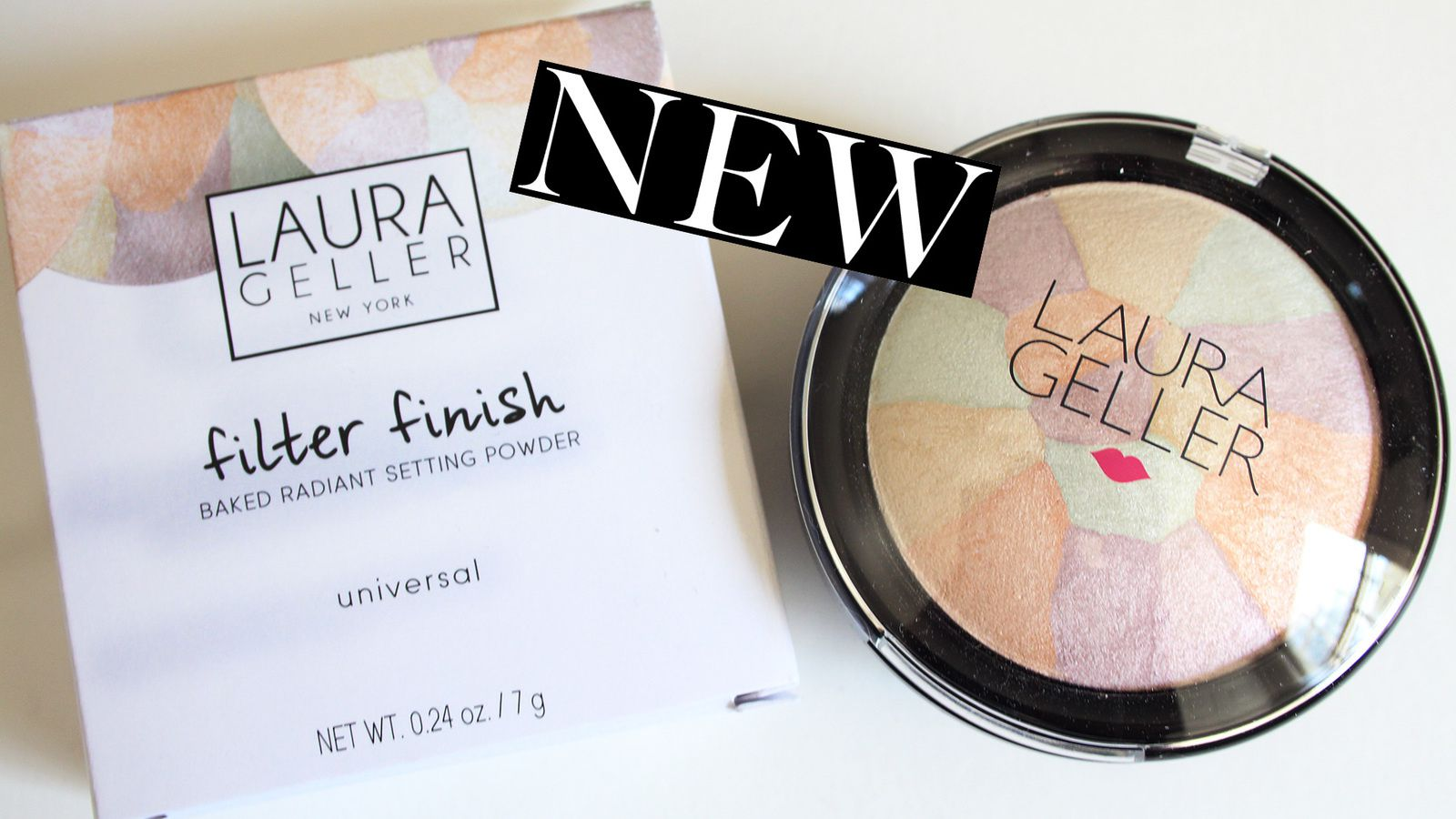NEW Laura Geller Filter Finish Setting Powder REVIEW