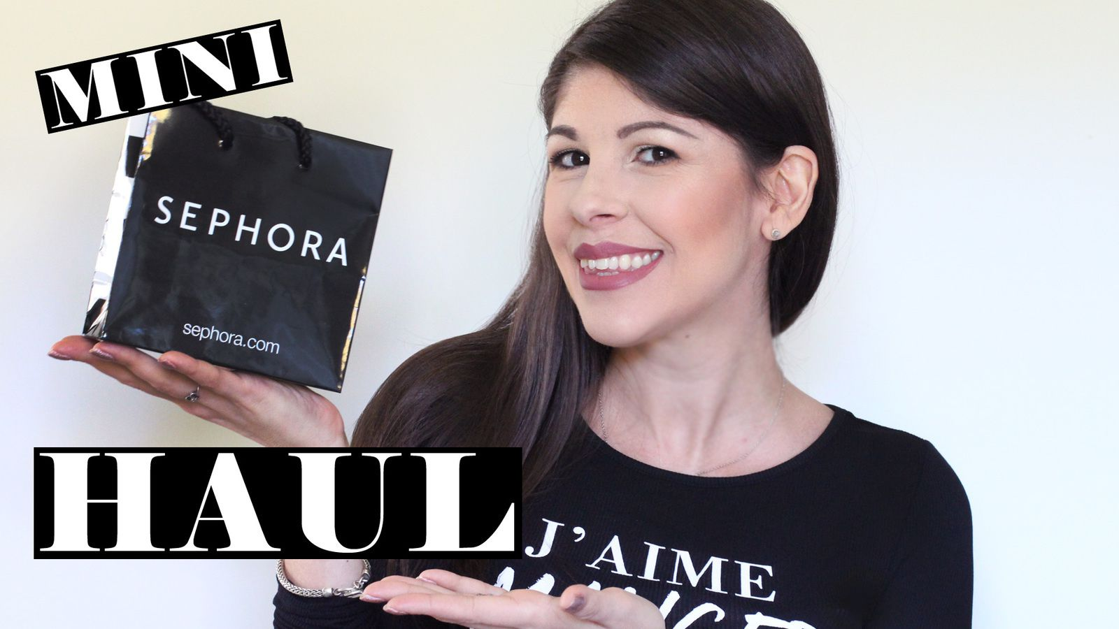 A Little SEPHORA Haul | Lips &amp&#x3B; Eyes
