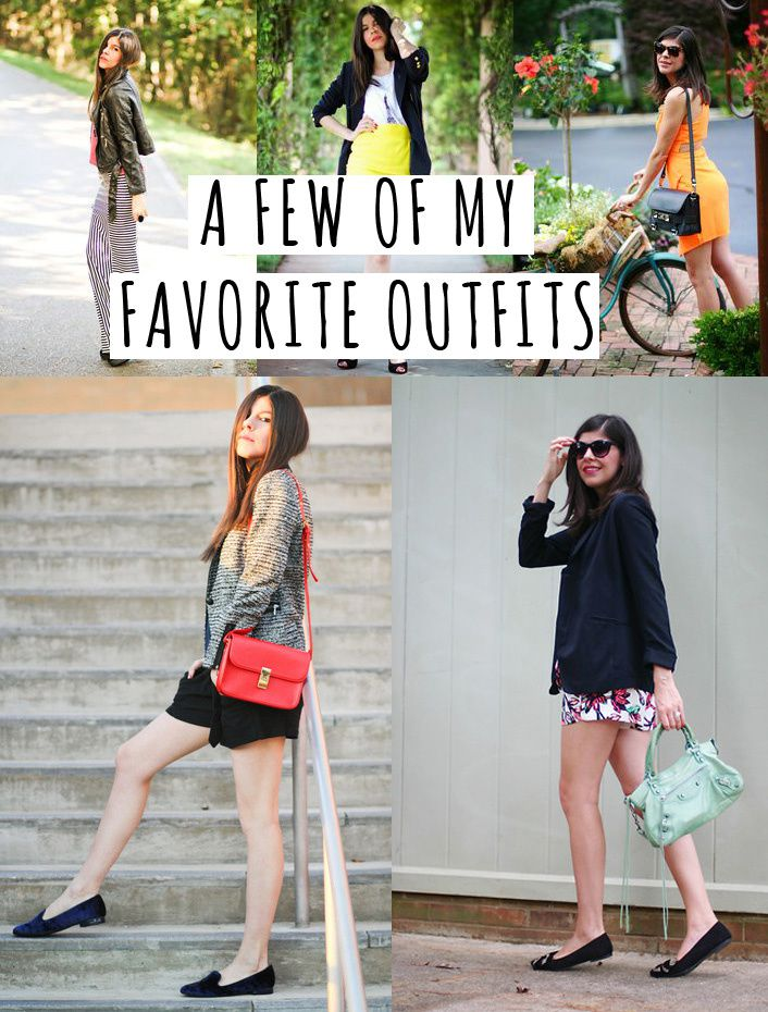 Looking Back: A Few of My Favorite Outfits