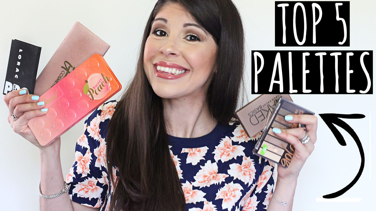 My Top 5 Eyeshadow Palettes! 2016