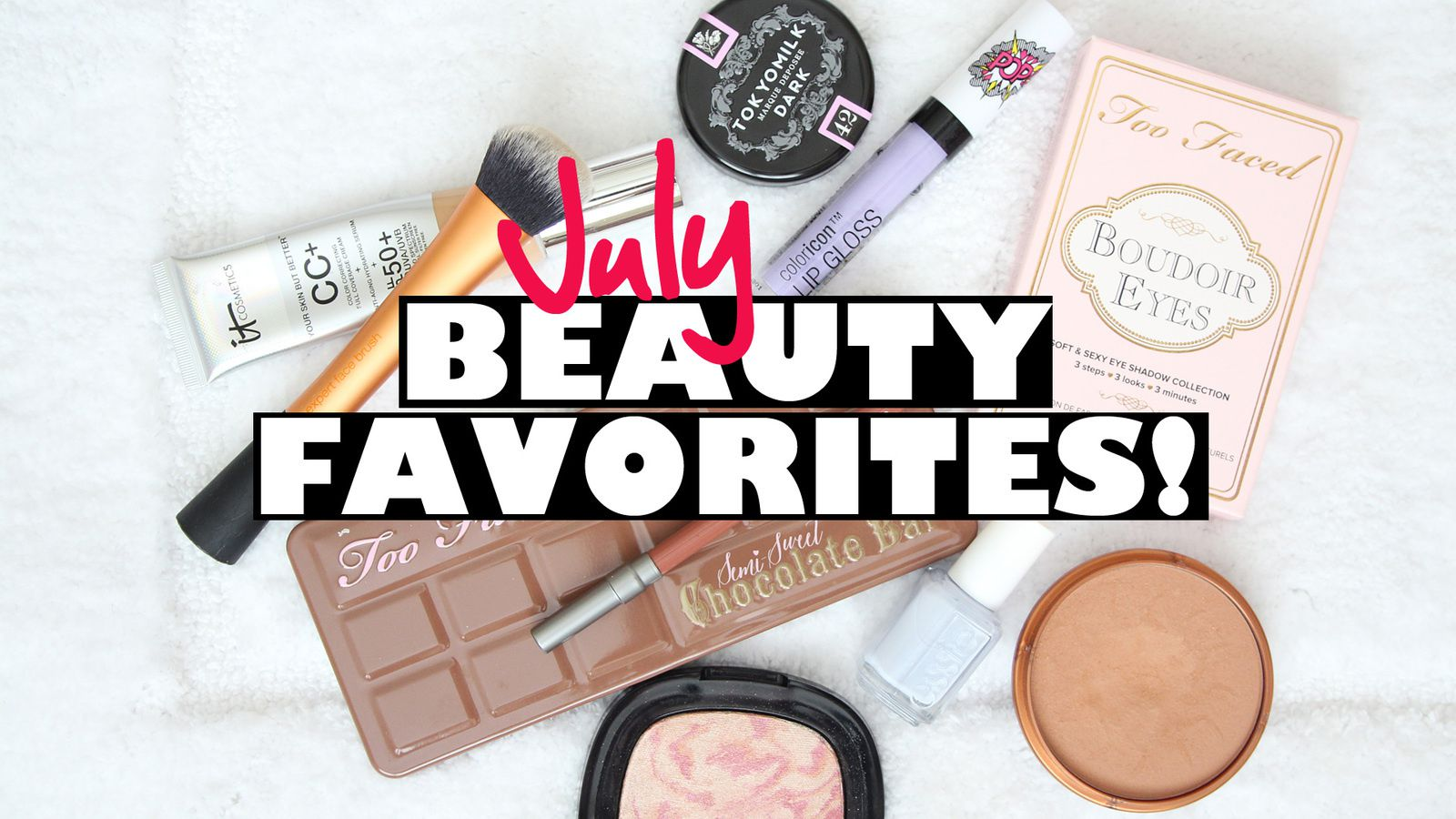 July 2016 FAVORITES! Beauty, Best Fiends App &amp&#x3B; MORE!!
