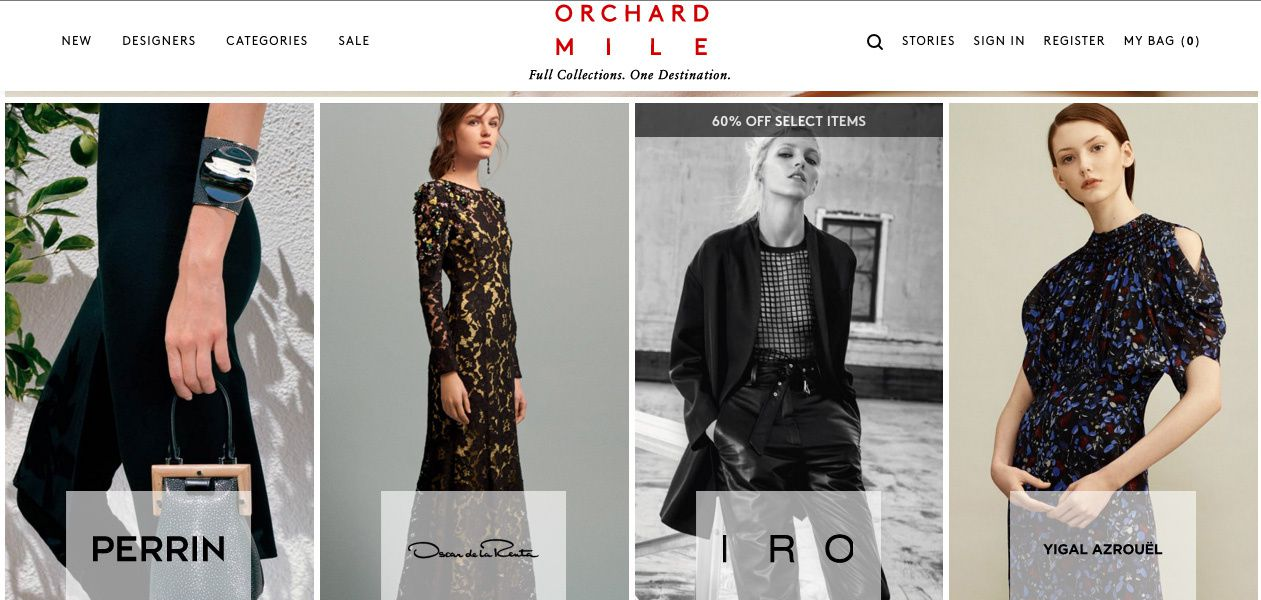 Orchard Mile: Full Collections. One Destination.