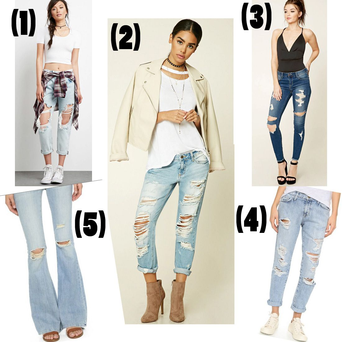 Lately Loving: Destroyed Denim!