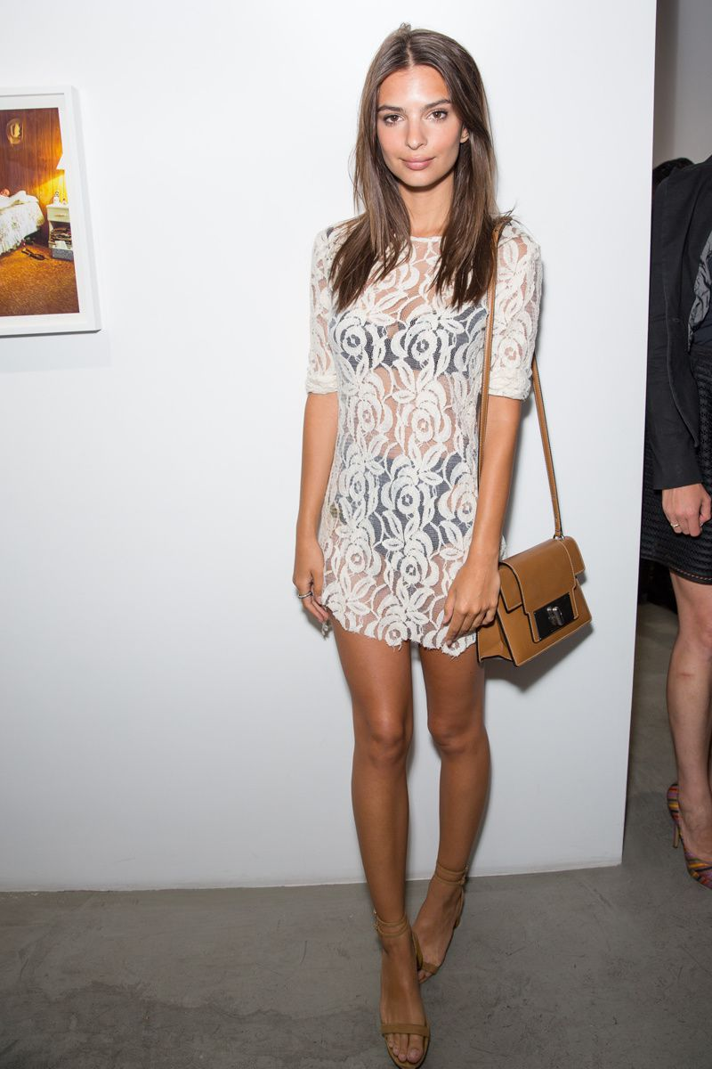 Snag Her Style // Emily Ratajkowski's Laid Back Cool Outfits