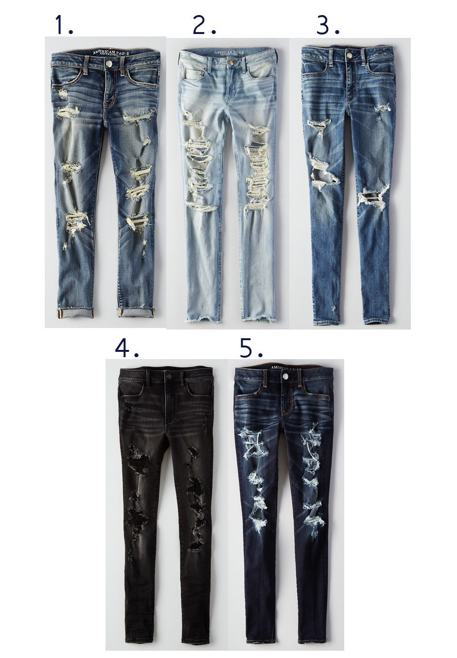 Detroyed Denim // AE FALL FAVES