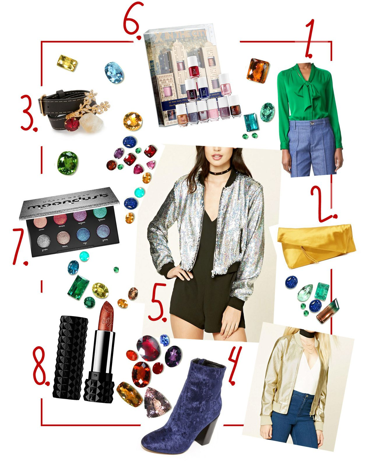 How to Dress Up in Jewel Tones this Holiday Season