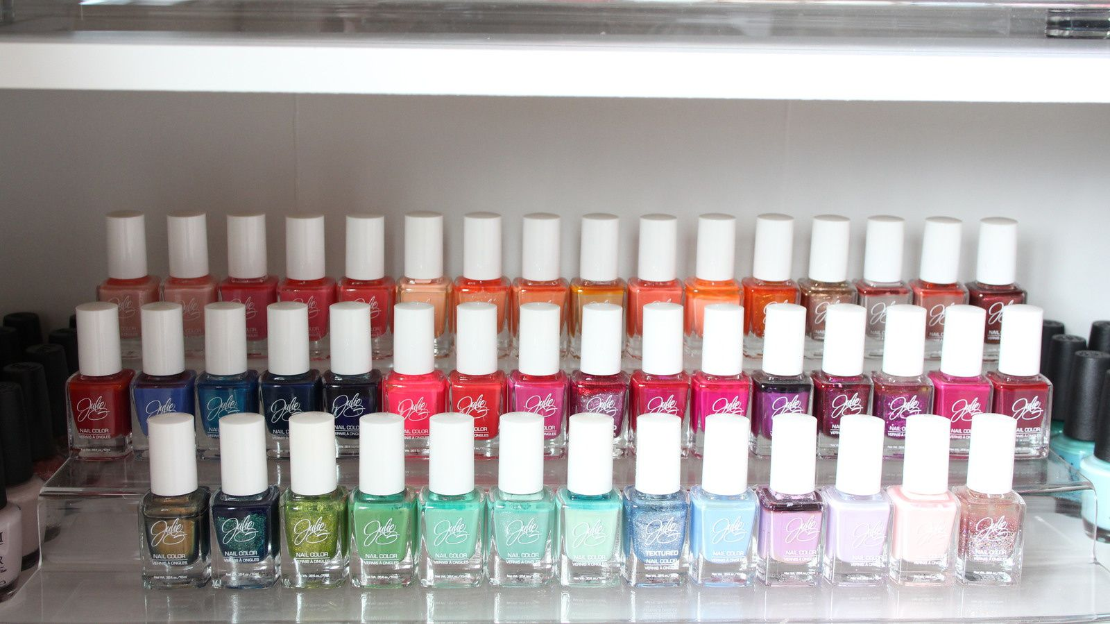 Updated Nail Polish Collection Storage