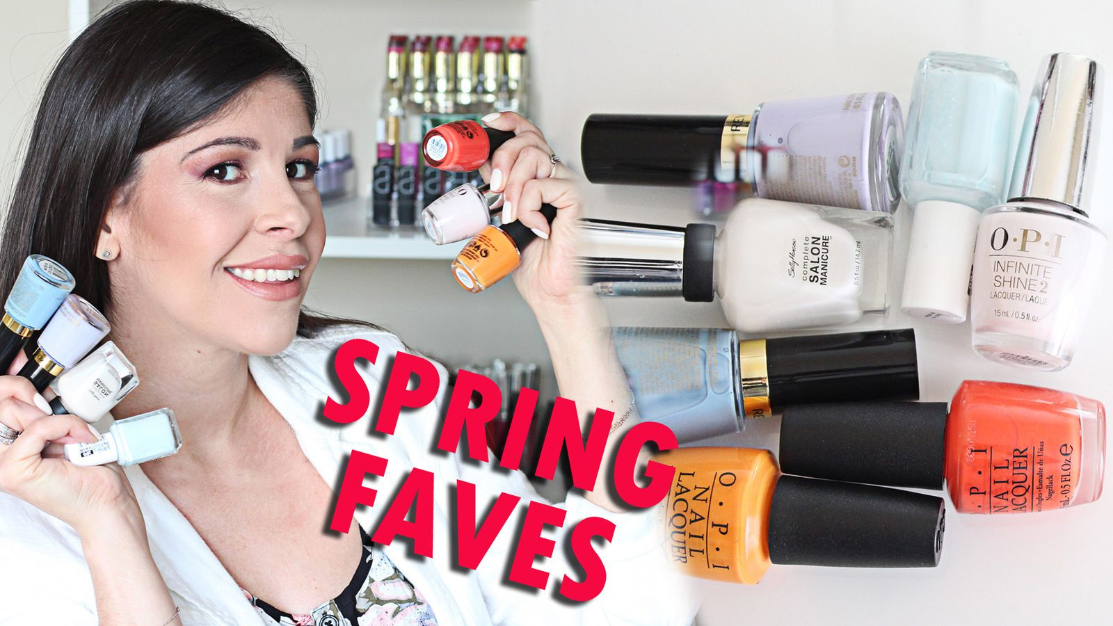 My Top Spring 2017 Nail Polish Favorites!!!