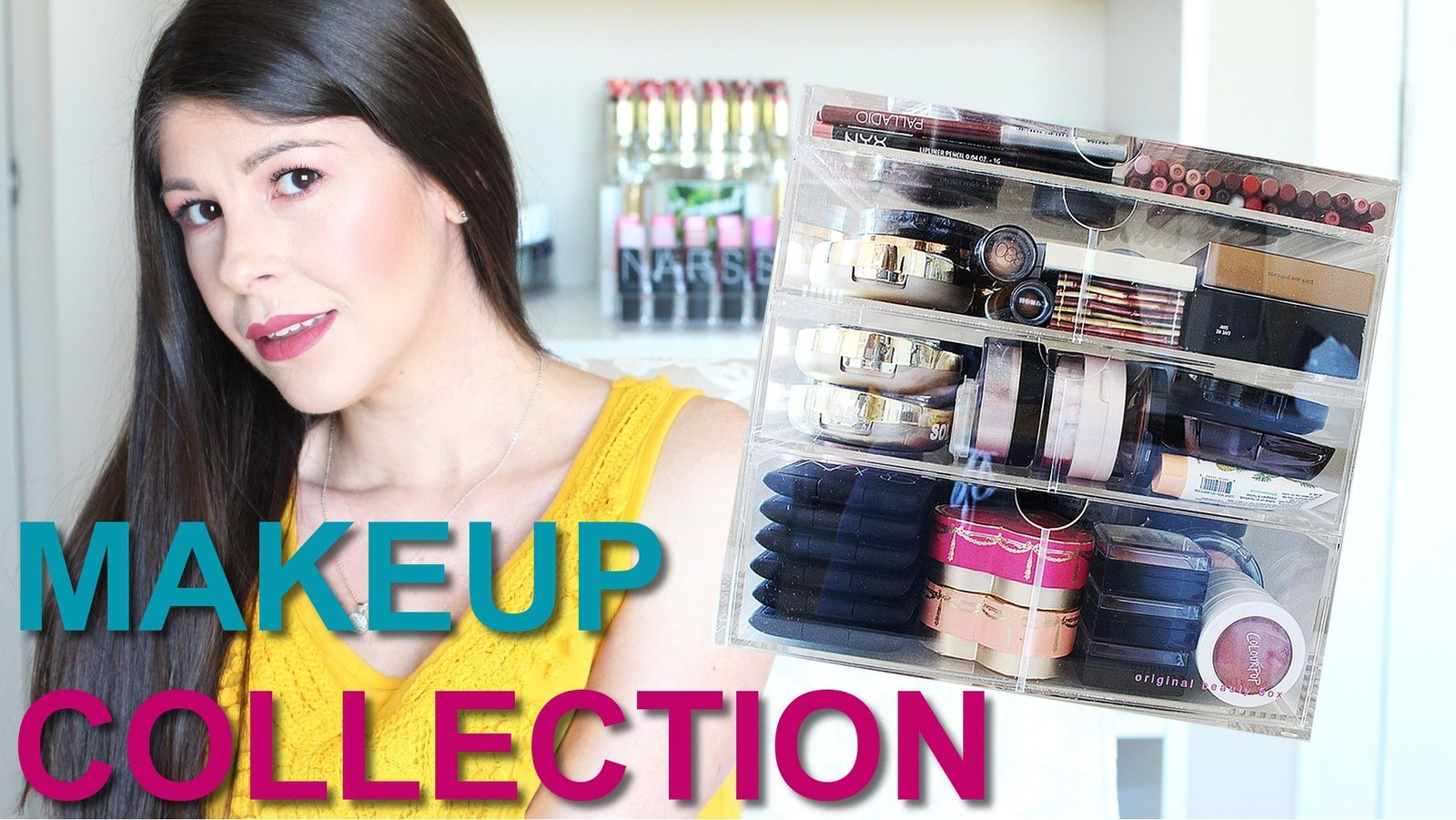 My Original Beauty Box Makeup Collection + Storage!
