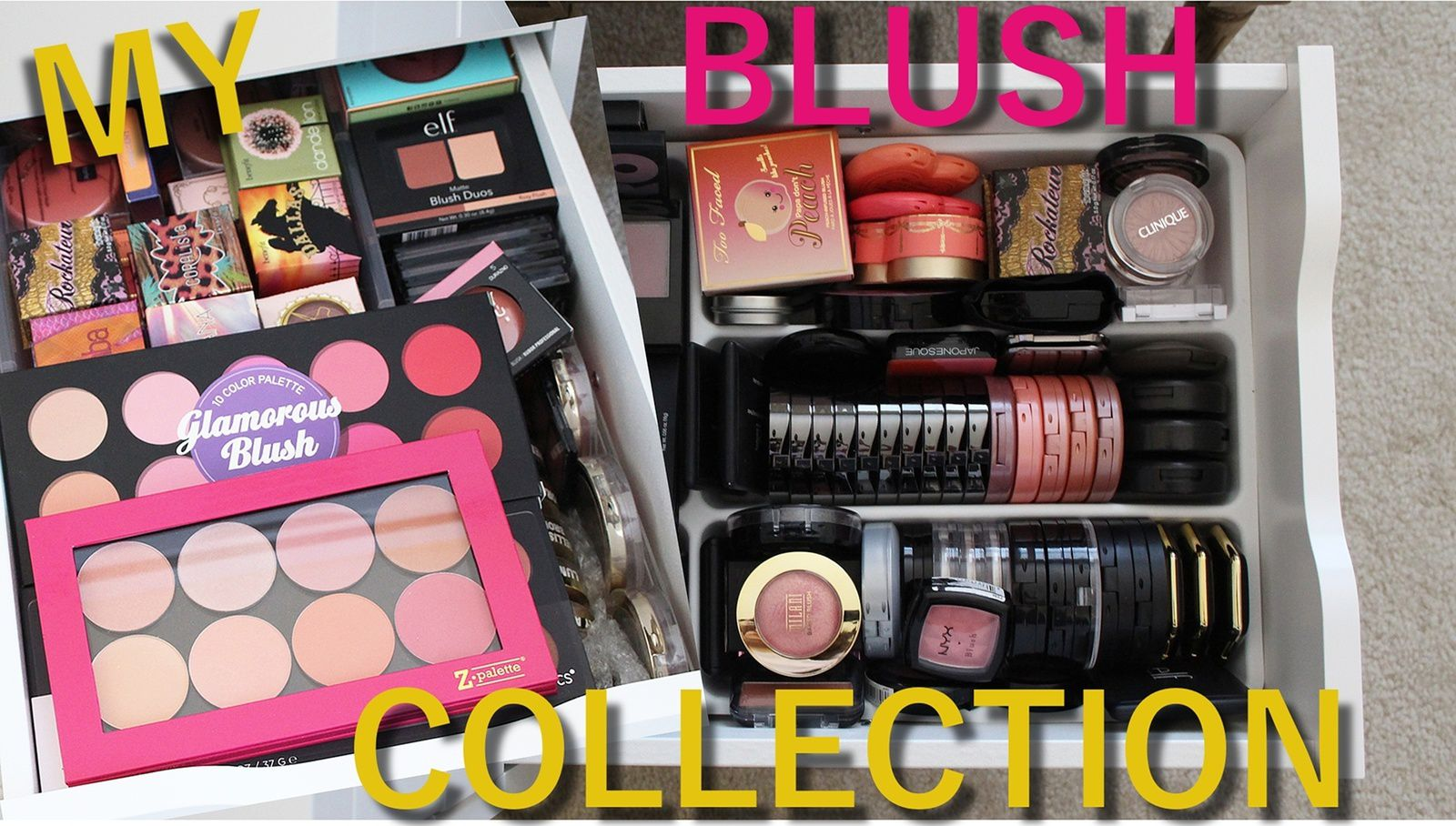 My Blush Collection | VLOG!