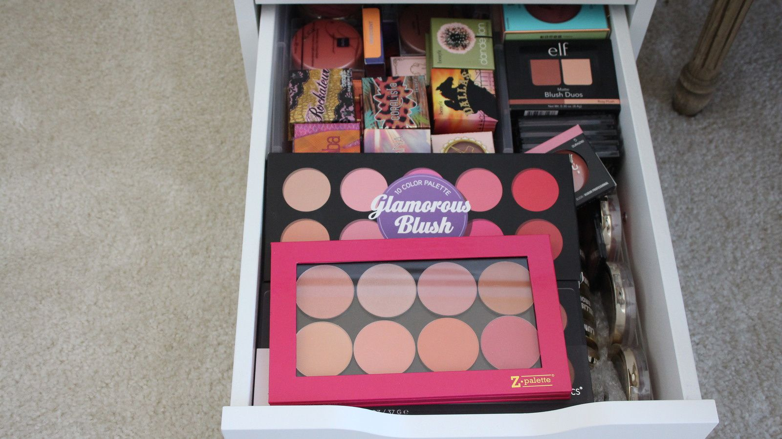 My Blush Collection   VLOG!