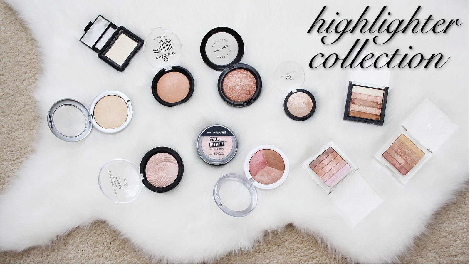 My Highlighter Collection | Makeup Collection Part 2