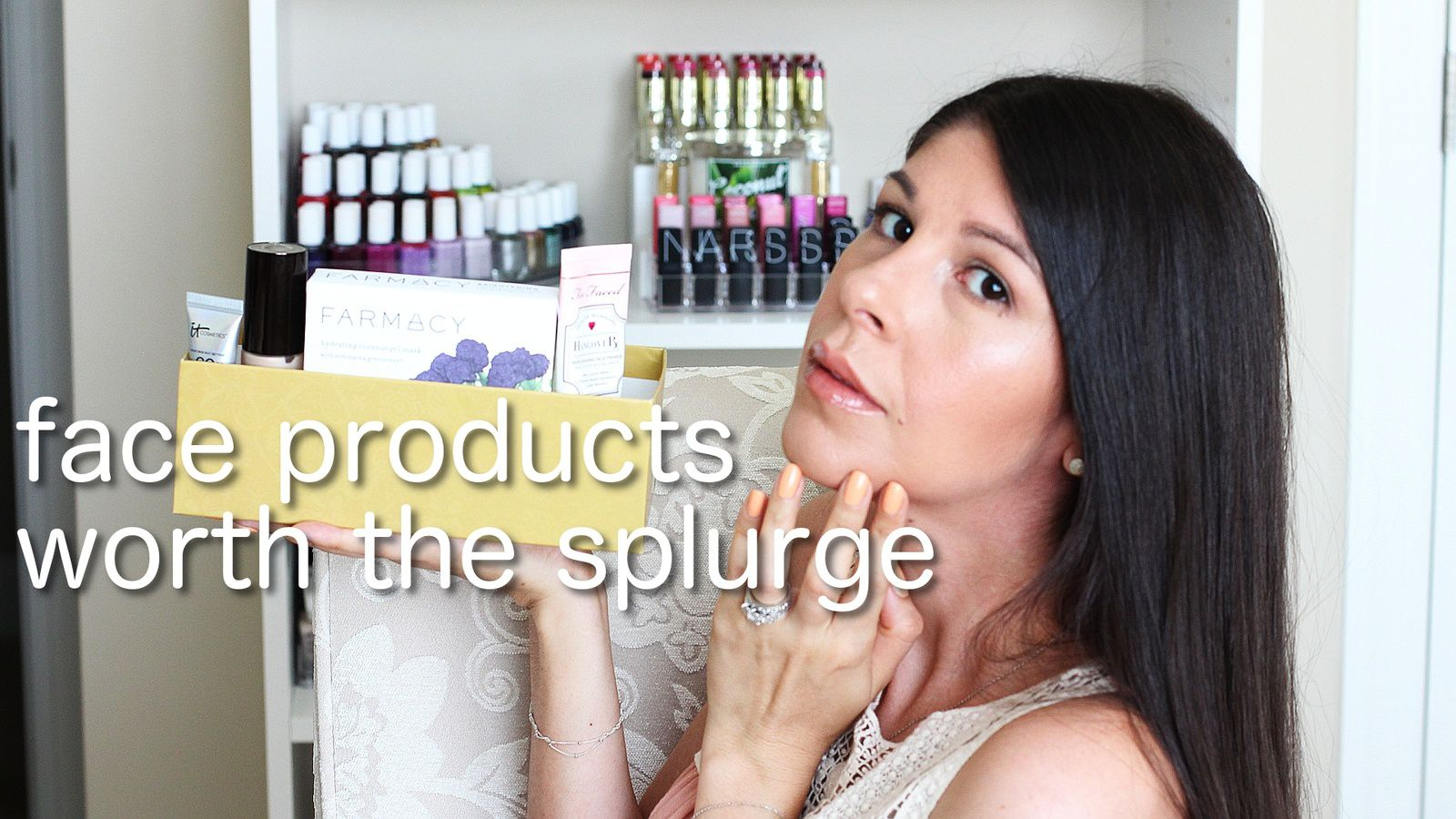 8 Beauty Face Products WORTH THE SPLURGE!!