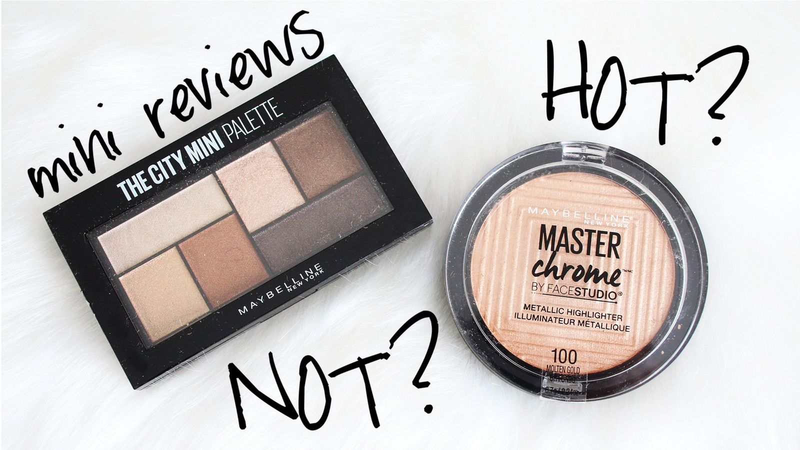 NEW Maybelline Makeup! HOT OR NOT?
